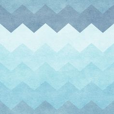 Chevron Waves | Removable Wallpaper | WallsNeedLove