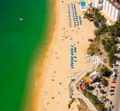 #Beach Praia de Armação de Pera, Algarve, Portugal | via http://blog.turismodoalgarve.pt