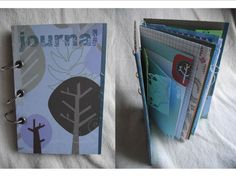 One of A Kind Very Eco Chic Altered Art Junque Journal Premade Mini Album Homemade Smash Book by JudeAlyssaMarkus on Etsy Smash Book Planner, Journal Pages, Journal Ideas, Handmade Envelopes, Pattern Paper, Altered Art, Mini Albums, Hand Stamped, The Book