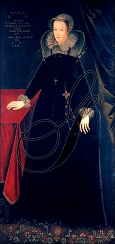 The last portrait of Mary Queen of Scots.