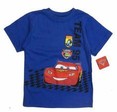 Disney Cars Baby Toddler Boys Graphic Character t Tee Shirt Short Sleeve 24M nwt #DisneyPixar #BirthdayEveryday