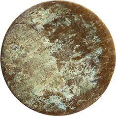 patina brass knob | CB2