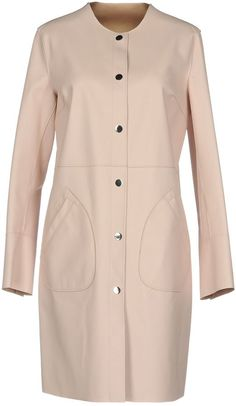 Pinko Women Full-Length Jacket on YOOX. The best online selection of Full-Length Jackets Pinko. YOOX exclusive items of Italian and international designers - Secure payments African Dresses Men, Round Collar, Single Breasted, Bag Accessories, Chef Jackets, Sportswear, Long Coats, Long Sleeve, Buttons