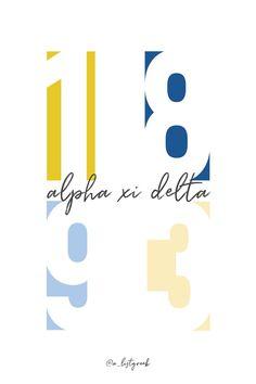 Shop all the cutest Alpha Xi Delta gifts and jewelry at www.alistgreek.com! #alphaxidelta #axid #gogreekgraphic #sororitygraphic Delta Sorority, Alpha Xi Delta, Sorority Life, Sorority Socials, Greek Gifts, Bid Day Themes, Go Greek, Hand Stamped Jewelry, Social Media