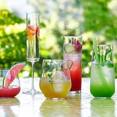 Fresh fruit drinks to compliment the summer heat!