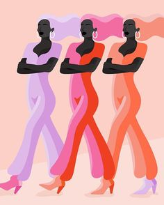 Fashion & Beauty Graphic Designer, Illustrator, and Art Director Guache, Instagram Story Ideas, Grafik Design, Photoshop, Graphic Design Inspiration, Black Art, Women Empowerment, Female Art, Digital Illustration