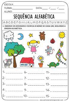 Math Workbook, Kids Math Worksheets, Classroom Activities, Math For Kids, Kids Education, Professor, Alphabet, Homeschool, Parenting