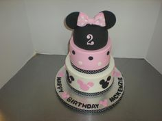 Mickey or Minnie for the little one's birthday!