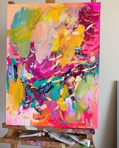 How to Make Your Acrylics Look Like Oils — Amira Rahim Colorful Abstract Art, Colorful Paintings, Art Carton, Acrylic Painting Inspiration, Painting Wallpaper, Artist Painting, Creative Art, Pop Art, Art Projects