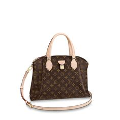 3450ea85cd Rivoli MM Monogram - Handbags | LOUIS VUITTON ® Sacs À Main Louis Vuitton,  Damier