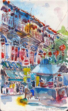 Smith Street, Chinatown #Singapore