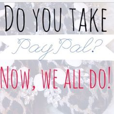 Posh now takes PayPal!! Thanks posh!! Pay your way!! Now select PayPal if need be at checkout as a form of payment!!  Thanks postmark for adding yet another great feature!!  pass the word along ladies because not seeing to many shops that know this yet! Anthropologie Jewelry Rings