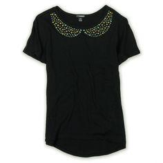 #Ecko Unltd. #Womens #Studded #Collar #T-Shirt