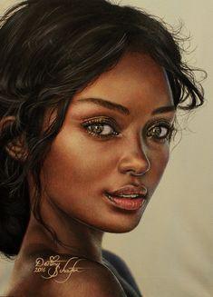 Kirbyish Painting by gimgams Black Girl Art, Black Women Art, Portraits, Portrait Art, African American Art, African Art, Cool Art Drawings, Art Sketches, Pintura Graffiti