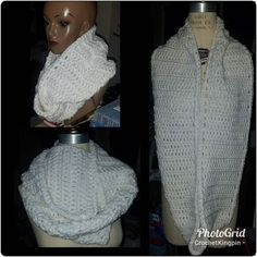 Hi Just finished! Scarf Crochet, Infinity, Wordpress, Fashion Accessories, It Is Finished, Infinite