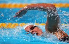 Chloe Sutton of the USA competes during the Swimming Women's 800m Freestyle preliminaries heat four on day fourteen of the 15th FINA World Championships at Palau Sant Jordi on August 2, 2013 in Barcelona, Spain.