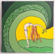 energy by lamoncu #surf #art #surfing #painting #drawing #waves #longboard #sea #surfer #artist #paint #artwork #jocreo #posca