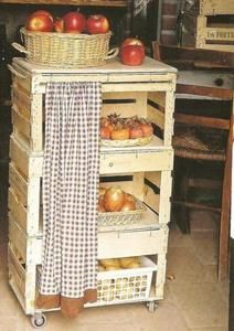 Top 23 Cool DIY Kitchen Pallets Ideas You Should Not Miss Fruit and vegetable storage cabinet. Top 23 Cool DIY Kitchen Pallets Ideas You Should Not Miss