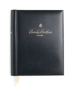 Brooks Brothers 2015 Desk Diary