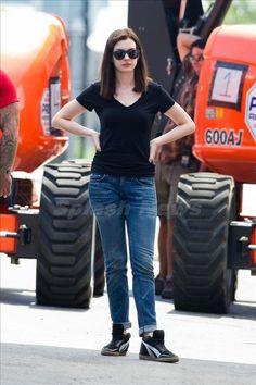 Anne Hathaway and Robert De Niro film The Intern