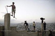 Kids playing in Bethlehem