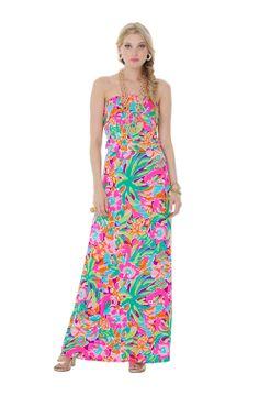 Amy Strapless Maxi Dress