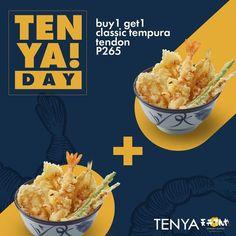 Tenya 2 Classic Tempura Tendons for the price of one Food Graphic Design, Food Design, Website Design Layout, Layout Design, Ecommerce Web Design, Food Advertising, Ai Illustrator, Promotional Design, Meal Deal