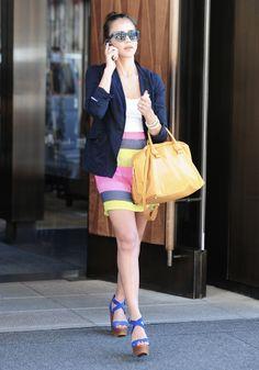 Los 10 tipos de zapatos que toda Glamourette debe tener a sus pies 2. WEDGES O TACONES DE CUÑA.