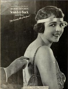 "Film poster for "" Scratch My Back "" (USA,1920)"