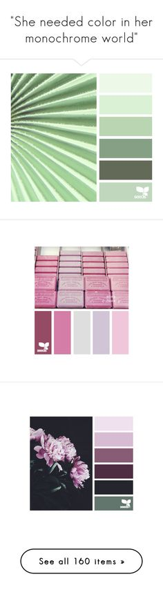 """""""She needed color in her monochrome world"""" by excogitatus ❤ liked on Polyvore featuring design seeds, colors, backgrounds, filler, pictures, palette, colours, color, seeds and palettes"""