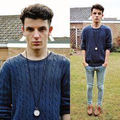Blue Jeans (by Ian Richardson) http://lookbook.nu/look/4065384-Blue-Jeans