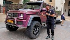 Mo Vlogs - My Friend's PURPLE 4 X 4 SQUARED $300,000!!!