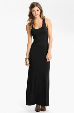 more full mourning dress - Soprano Racerback Maxi Dress (Juniors) available at Nordstrom