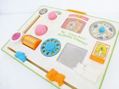 Vintage 80s Fisher Price Activity Centre from www.yourvintagelife.co.uk
