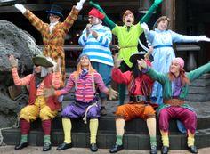 Peter pan show in disneyland Paris.