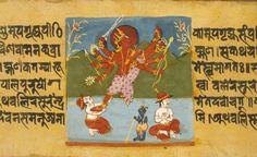 arjuna-vallabha:  Vishnu Trivrikama, the pastime of Vamanadeva...