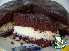 Шоколадно-кокосовый торт - кулинарный рецепт