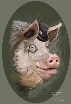 P. Piggleton V2 by TheNecco.deviantart.com on @DeviantArt