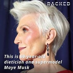 The Best Fashion Ideas For Women Over 60 - Fashion Trends Undercut Hairstyles Women, Hairstyles Over 50, Fashion Over 50, 60 Fashion, Over 50 Womens Fashion, Maye Musk, Grey Hair Over 50, Beautiful Women Over 50, Older Models