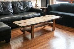 Live Edge Coffee Table by ShanvalleyFurniture on Etsy