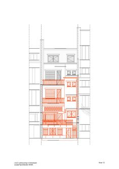 Image 30 of 33 from gallery of Town House in Antwerp / Sculp[IT]. Mini Clubman, My Dream Home, Townhouse, Home Goods, Floor Plans, House Design, How To Plan, Architecture, Gallery