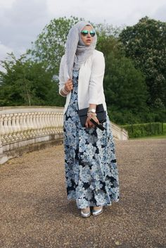 Try a crepe material. | 23 Seriously Beautiful Hijab Styles To Try