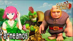 BUSCAR RECURSOS ( Farming) PARA TH8 ARQUERAS Y GIGANTES | Farming | Clas...