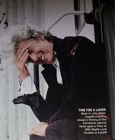 Such candid shots from the Radio Times Christmas edition.