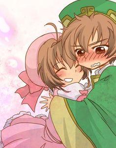 Resultado de imagen para sakura y shaoran