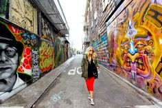 Clarion Alley, San Francisco.  This alley is always changing, never stay the same.  A constant work in progress.