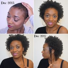2 Years Post Big Chop! #naturalhairjourney #bigchop #hairgrowth #lengthcheck Natural Hair Growth Remedies, Natural Hair Growth Tips, Natural Hair Twists, Natural Afro Hairstyles, Natural Hair Updo, Hair Growth Oil, Natural Hair Journey, Natural Hair Styles, Dreadlock Hairstyles