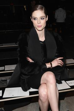 Coco Rocha  - TRESemme at Rebecca Minkoff Mercedes-Benz Fashion Week Fall 2015 - Backstage/Front Row