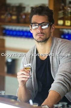 DAVID GANDY looking super hot!!