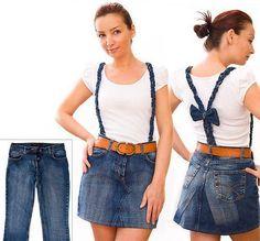 Transformação : Saia jeans - VilaClub